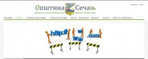 Secanj web