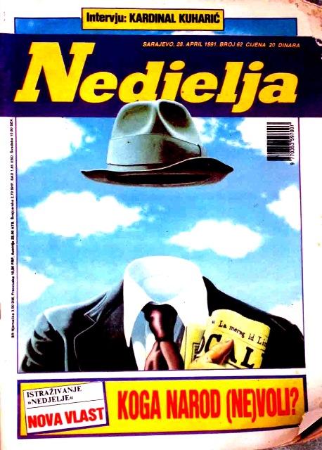 naslovnica Dani28041991