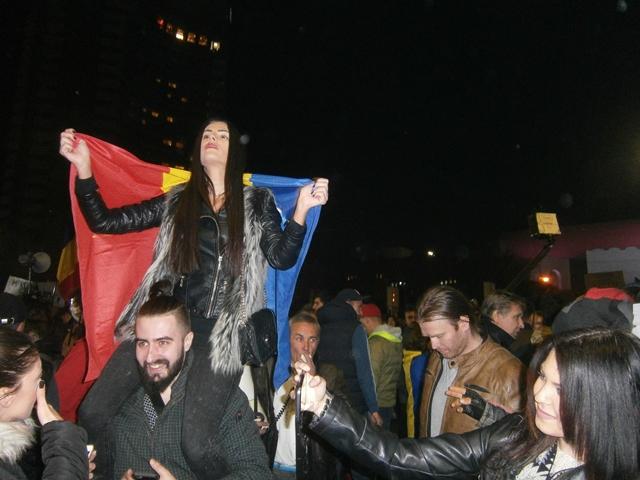 Druga rumunska revolucija: Protesti protiv Vlade i korupcije (foto: autor)