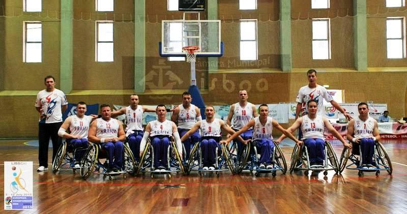 Reprezentacija kosarkasa u kolicima Srbije na Evropskom prvenstvu