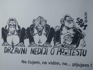 Studentski protest 1996972