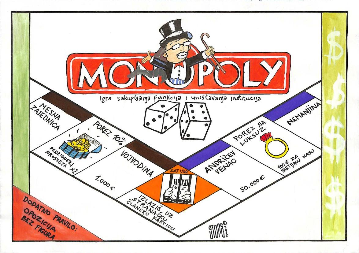 stups monopol