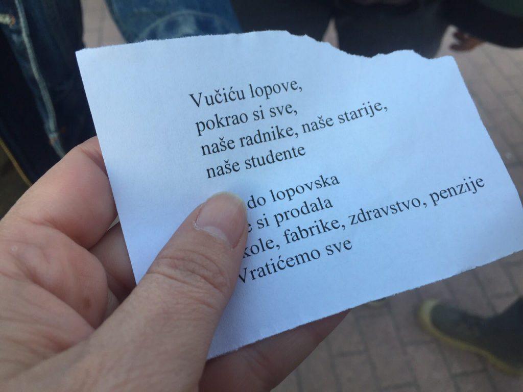 Novi Sad protest deveti dan foto Maja Ledjenac