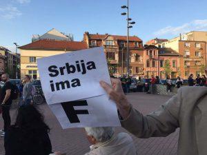 Protest Novi Sad deseti dan foto Maja Ledjenac1