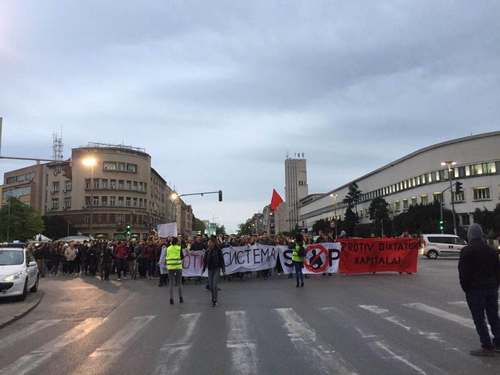 Protest Novi Sad foto Maja Ledjenac