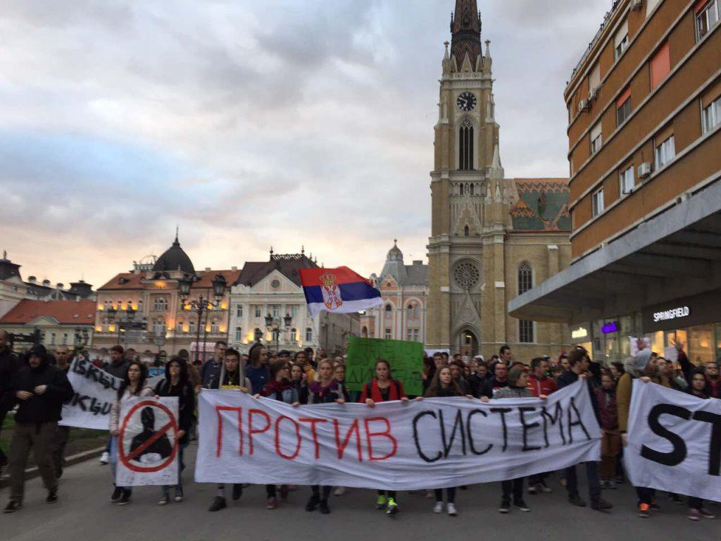 Protest Novi Sad foto Maja Ledjenac2