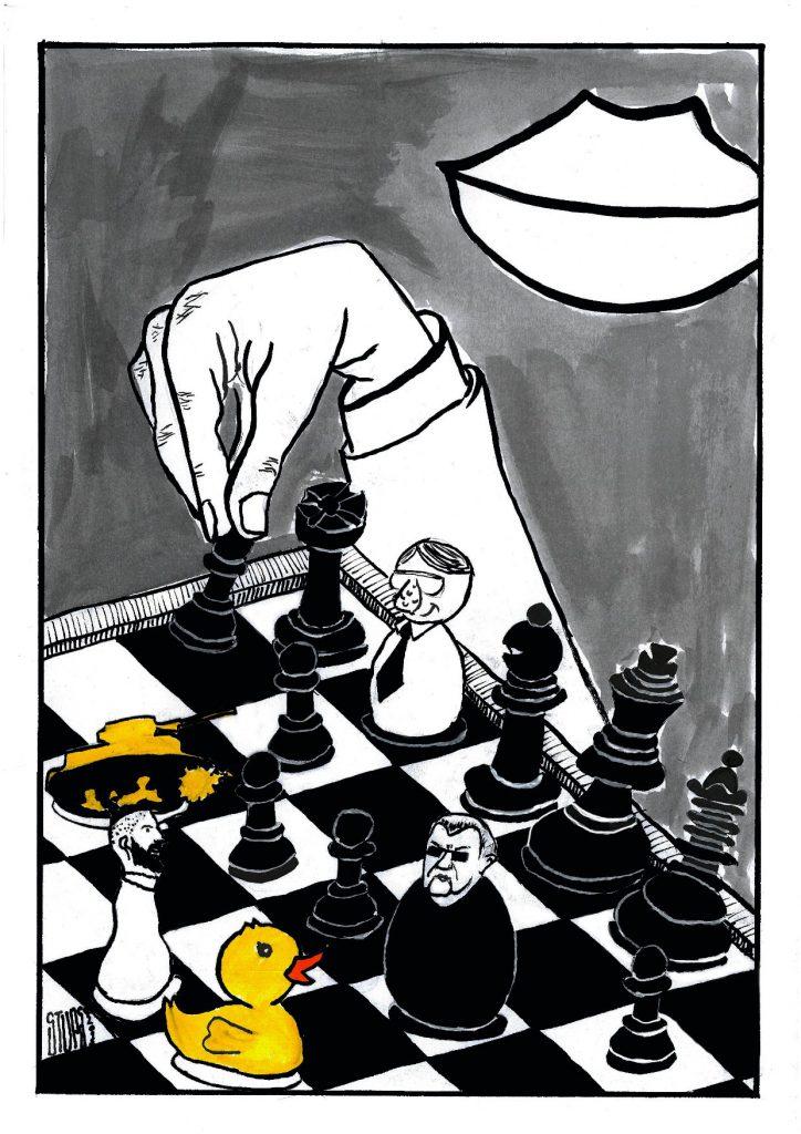Stups Karikatura nedelje opozicija