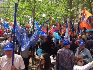 prvi maj, protest, beograd, foto Autonomija (maja Ledjenac)