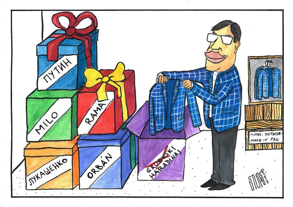 stups karikatura nedelje faktori stabilnosti