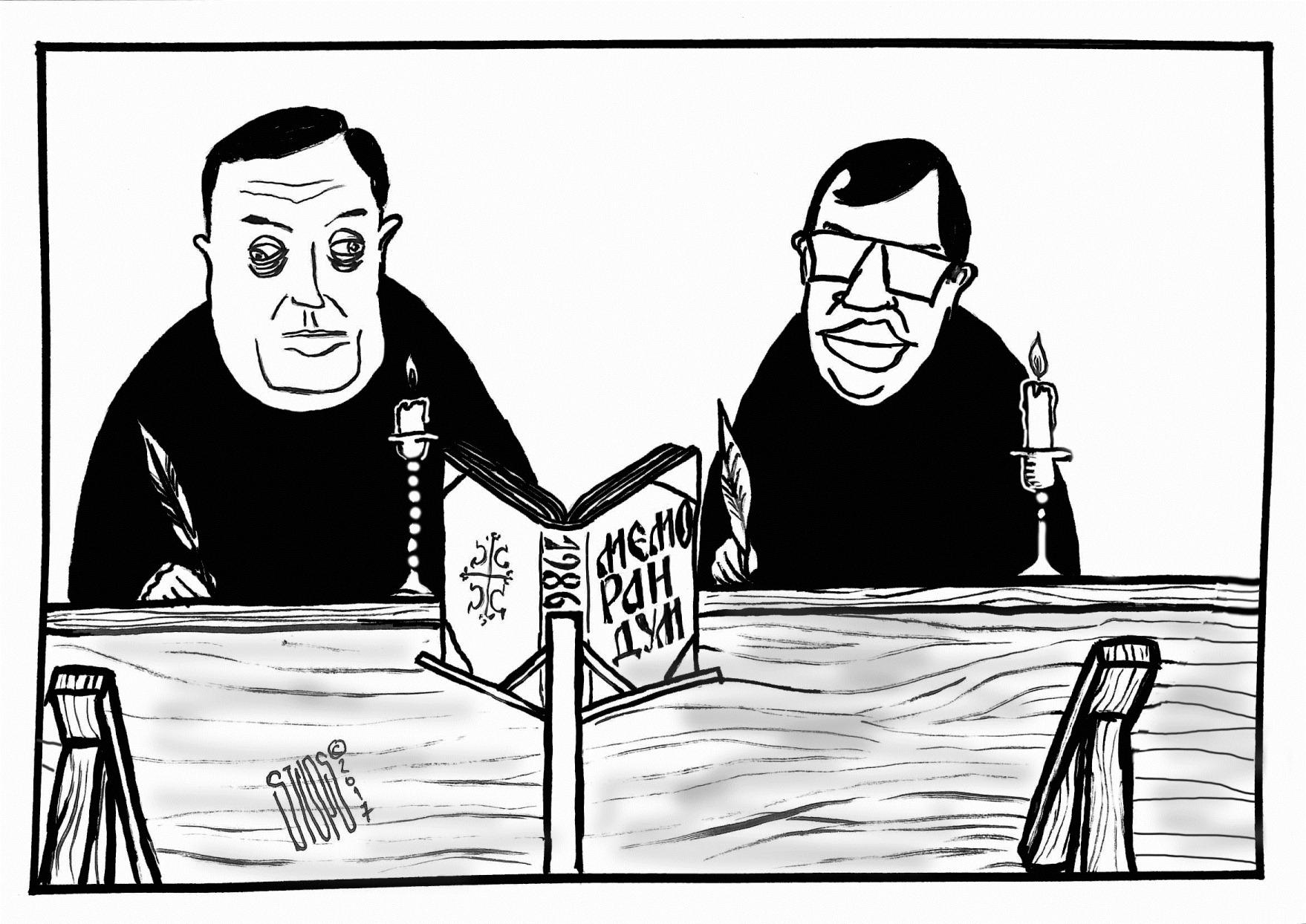 Stups karikatura deklaracija