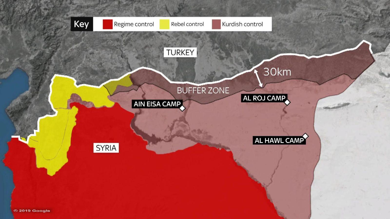 Turska U Kopnenoj Ofanzivi Na Siriju Autonomija